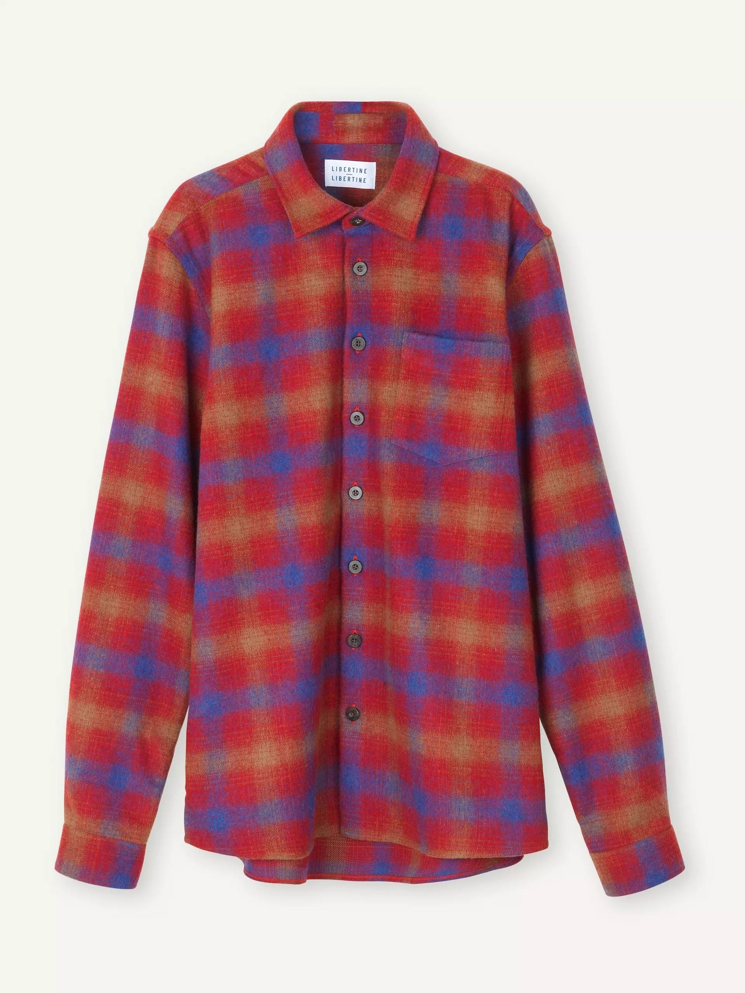Miracle Chinese Red Check Shirt-1