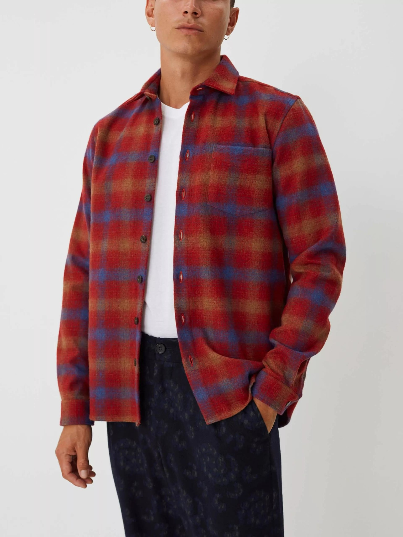Miracle Chinese Red Check Shirt-2
