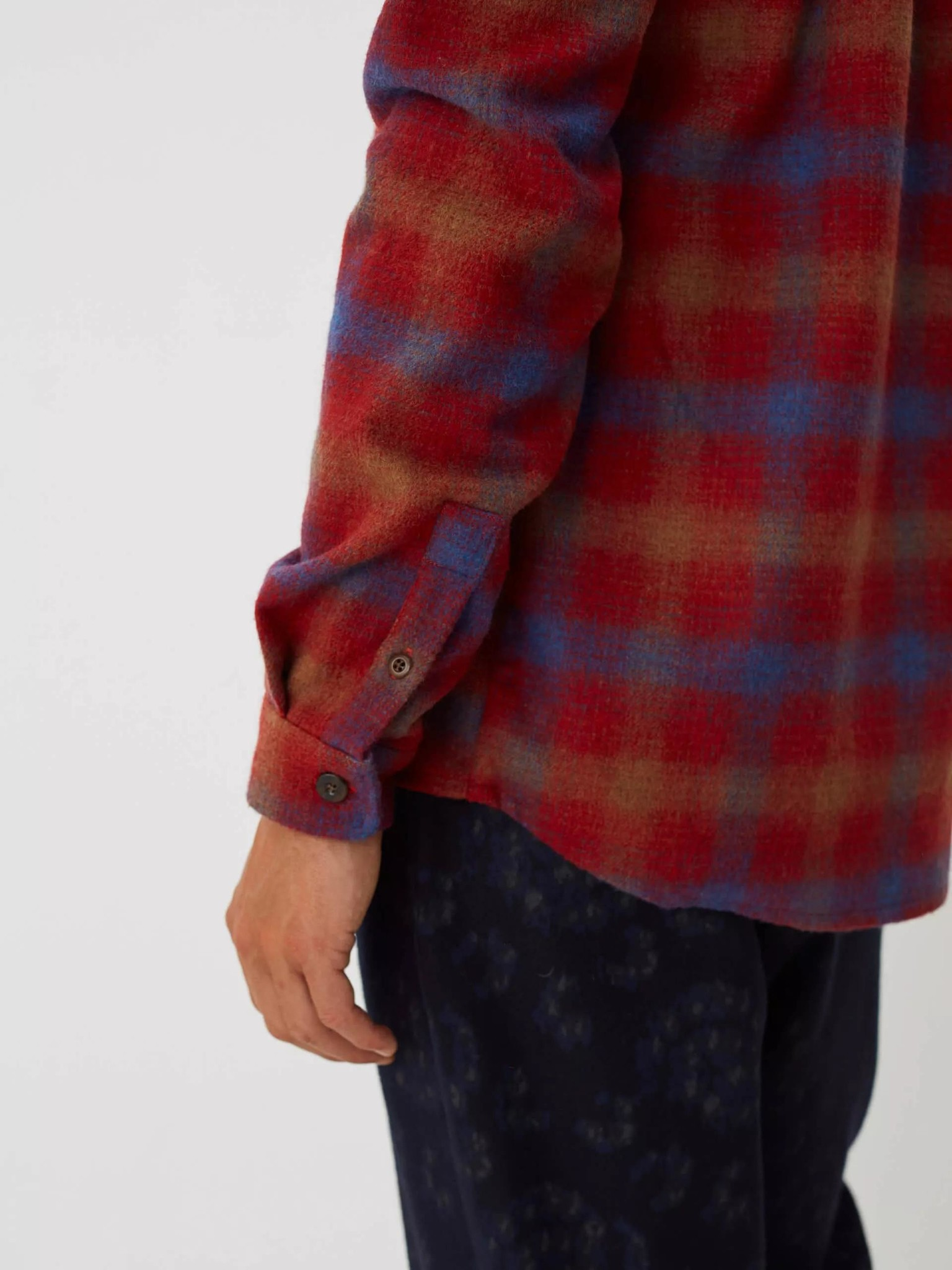 Miracle Chinese Red Check Shirt-4