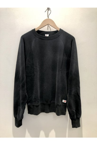 Raglan Made In Japan Crewneck Used Maruva Black