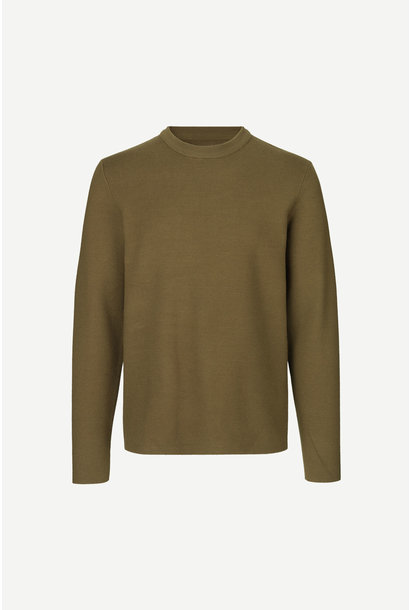 Gunan Crew Neck Kangaroo Brown 10490