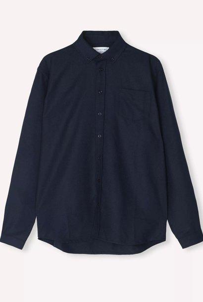 Hunter donker marineblauw overhemd