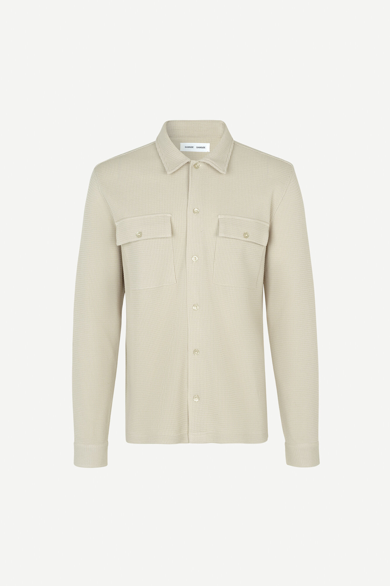 Dayo Woven Shirt Overcast 11586-1