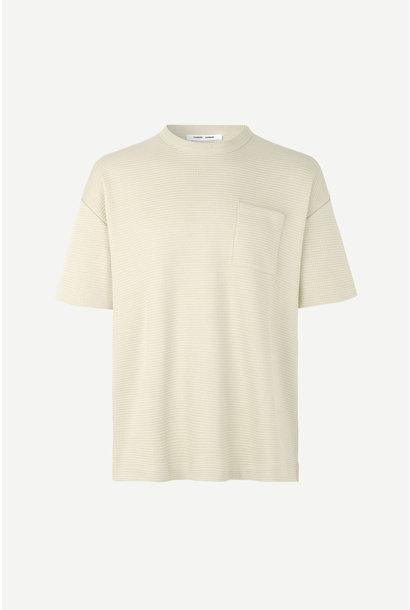 Ratano T-Shirt Overcast Cream