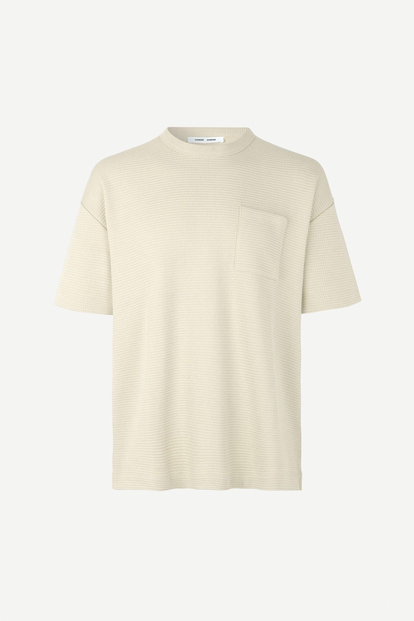 Ratano T-Shirt Overcast Cream 11583-1