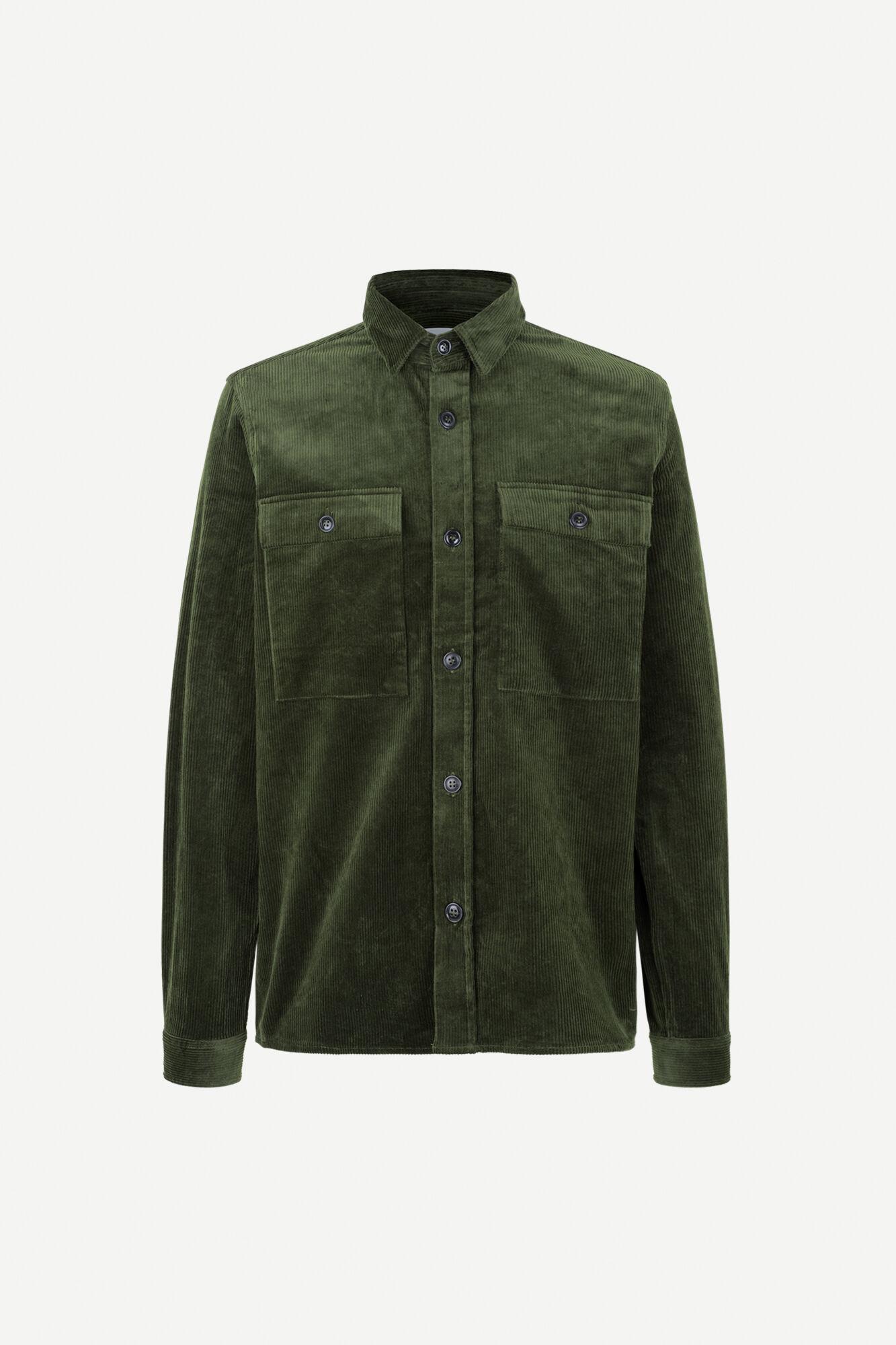 Waltones O Overshirt Kambu Green  11046-1