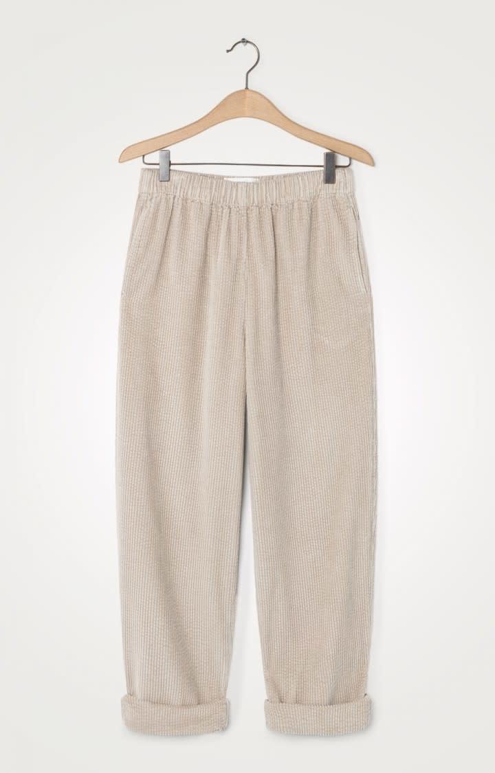 Padow Corduroy Pants Mastic Sand-1