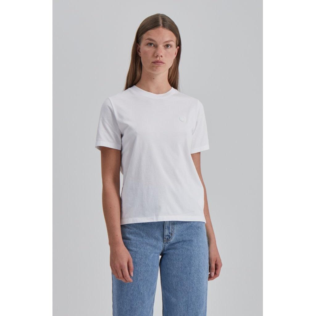 Mia Organic Cotton Bright White T-Shirt-2