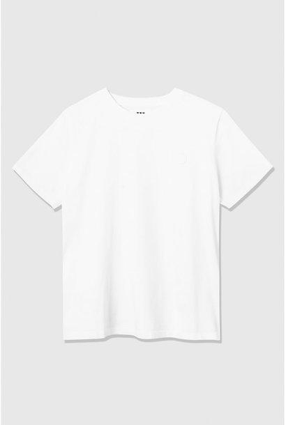 Mia helderwit T-shirt van biologisch katoen