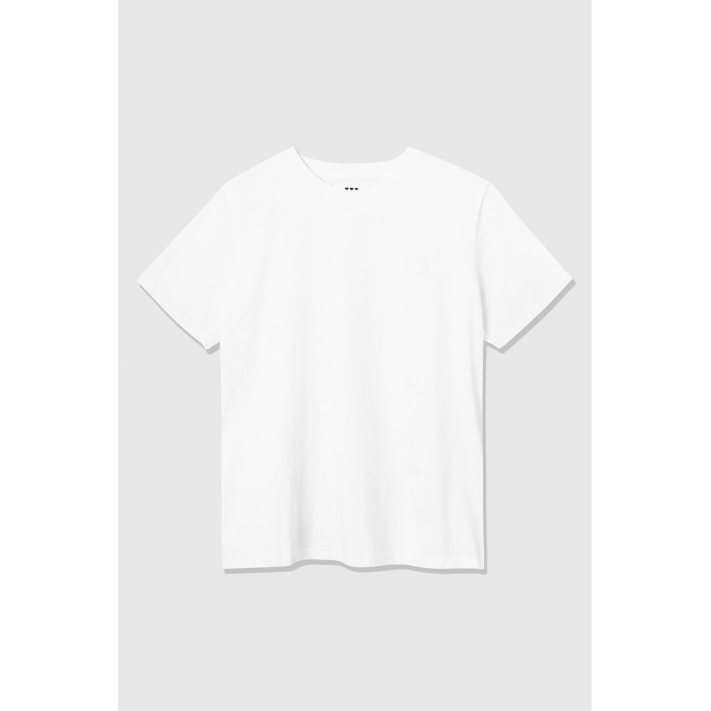 Mia Organic Cotton Bright White T-Shirt-1