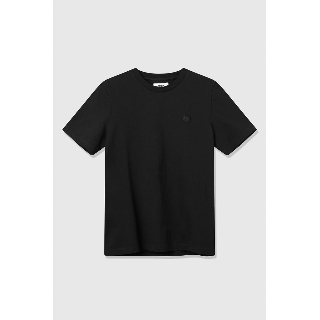 Mia Organic Cotton Black T-Shirt-1