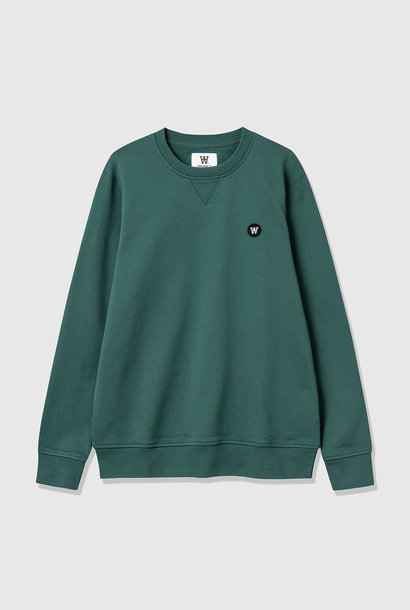 Tye Cotton Sweatshirt Faded Green