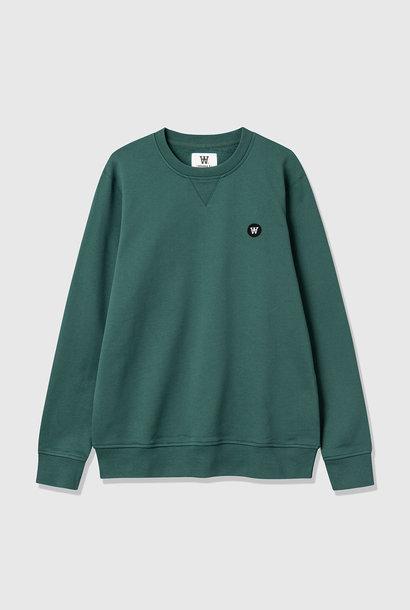 Tye katoenen sweatshirt vervaagd groen