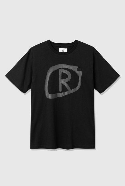 Ace Black R Organic T-Shirt