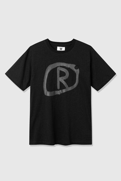 Ace Zwart R biologisch T-shirt