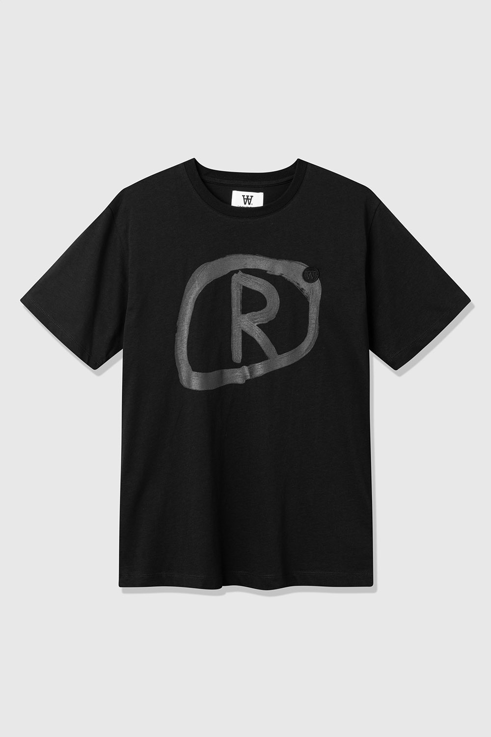 Ace Black R Organic T-Shirt-1