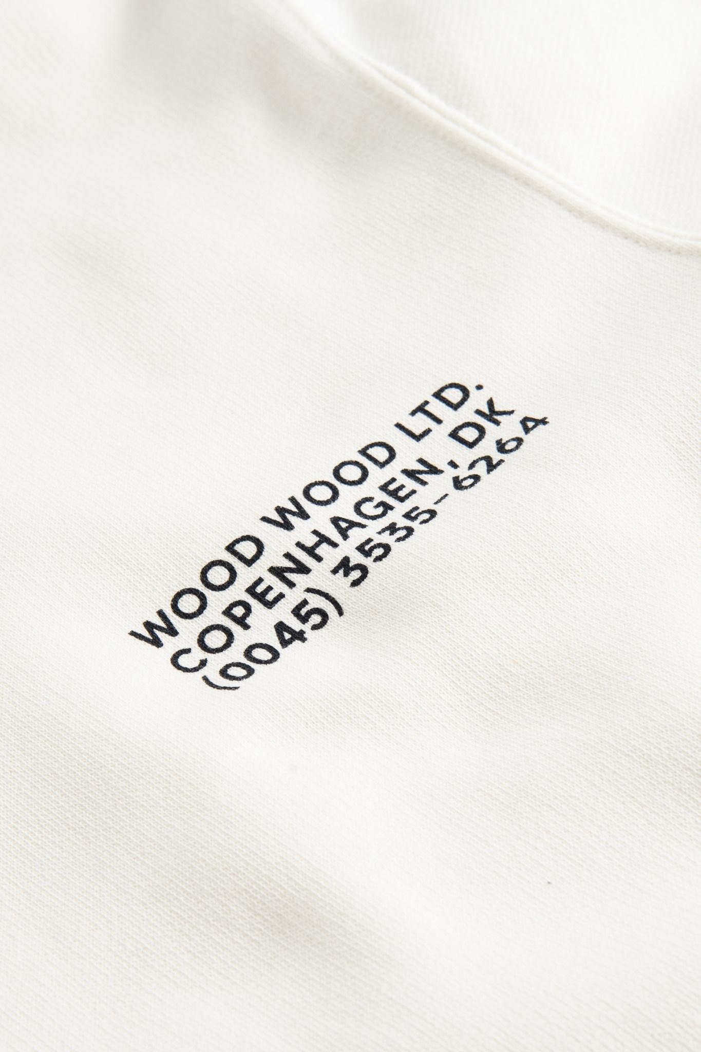 Hugh Sweatshirt Off White Print-2