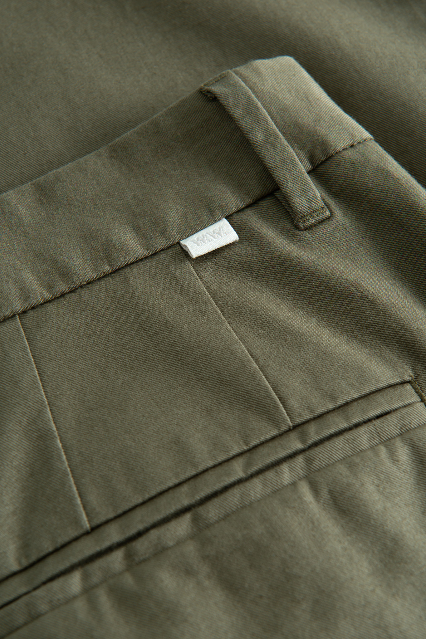 Marcus Light twill Trouser Olive Green-2