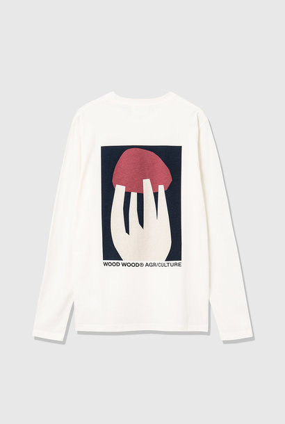 Peter Shroom Longe Sleeve White