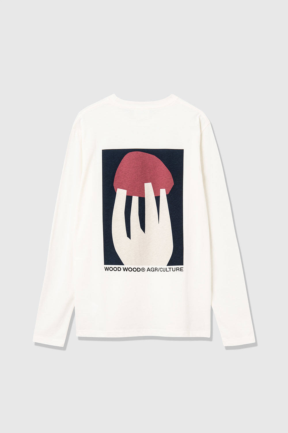 Peter Shroom Longe Sleeve White-1