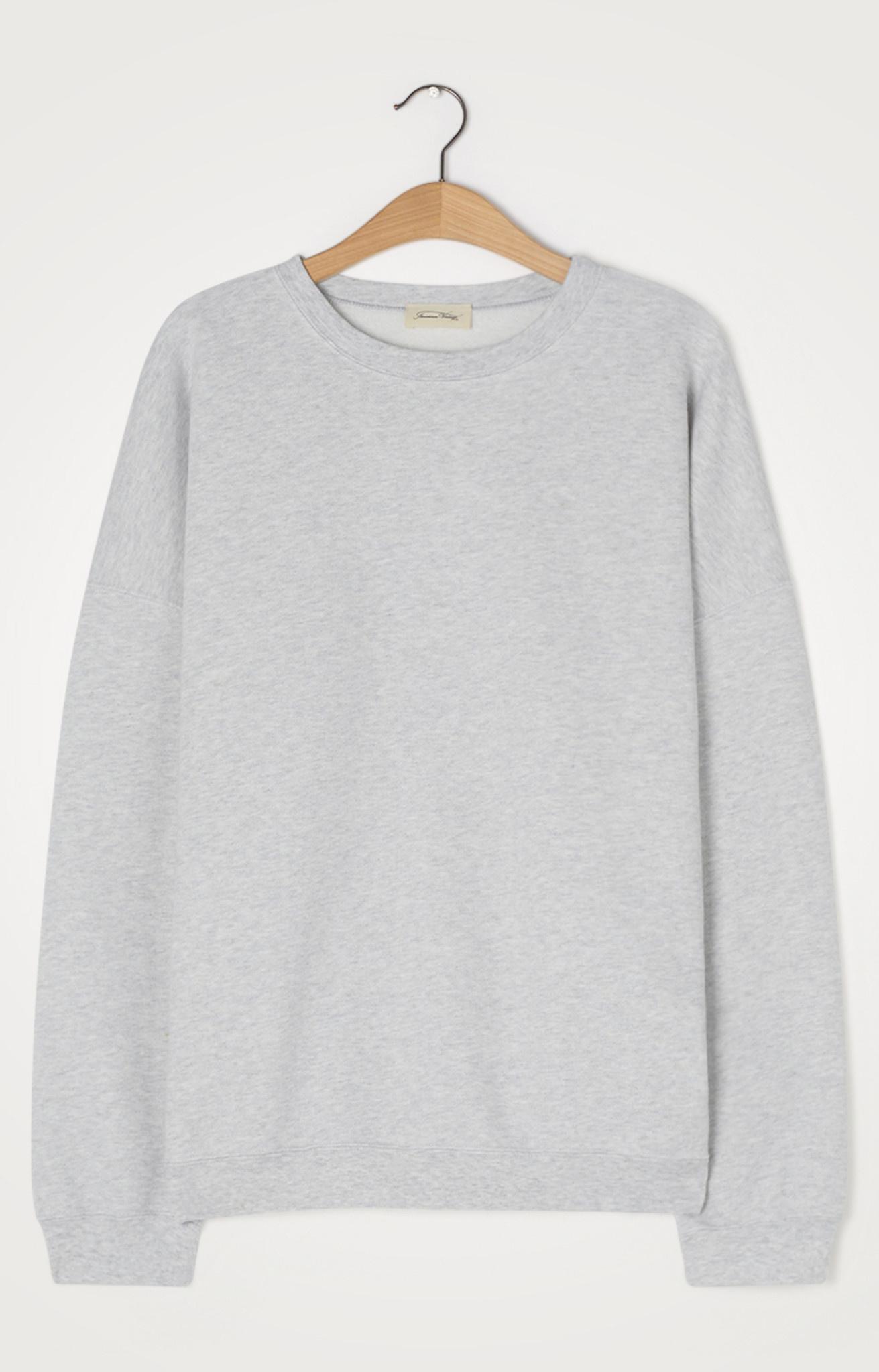 Baetown Sweatshirt Grey Melange-1