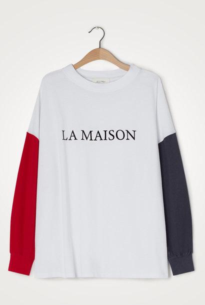 Zeritown Longsleeve T-Shirt Wit