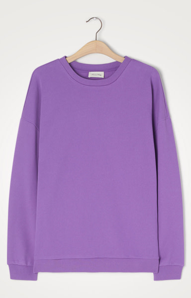 Freyway Purple Vintage Oversized Sweatshirt-1