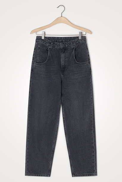 Yopday Black High Big Carrot Jeans