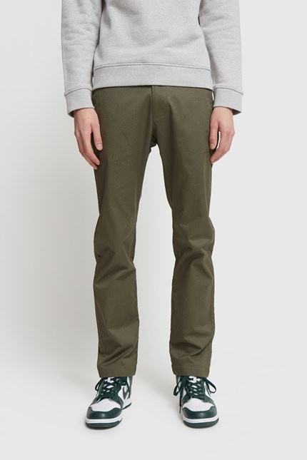 Marcus Light twill Trouser Olive Green-1
