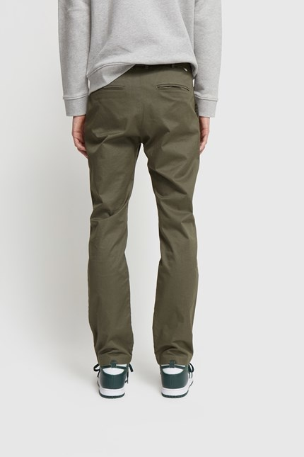 Marcus Light twill Trouser Olive Green-3