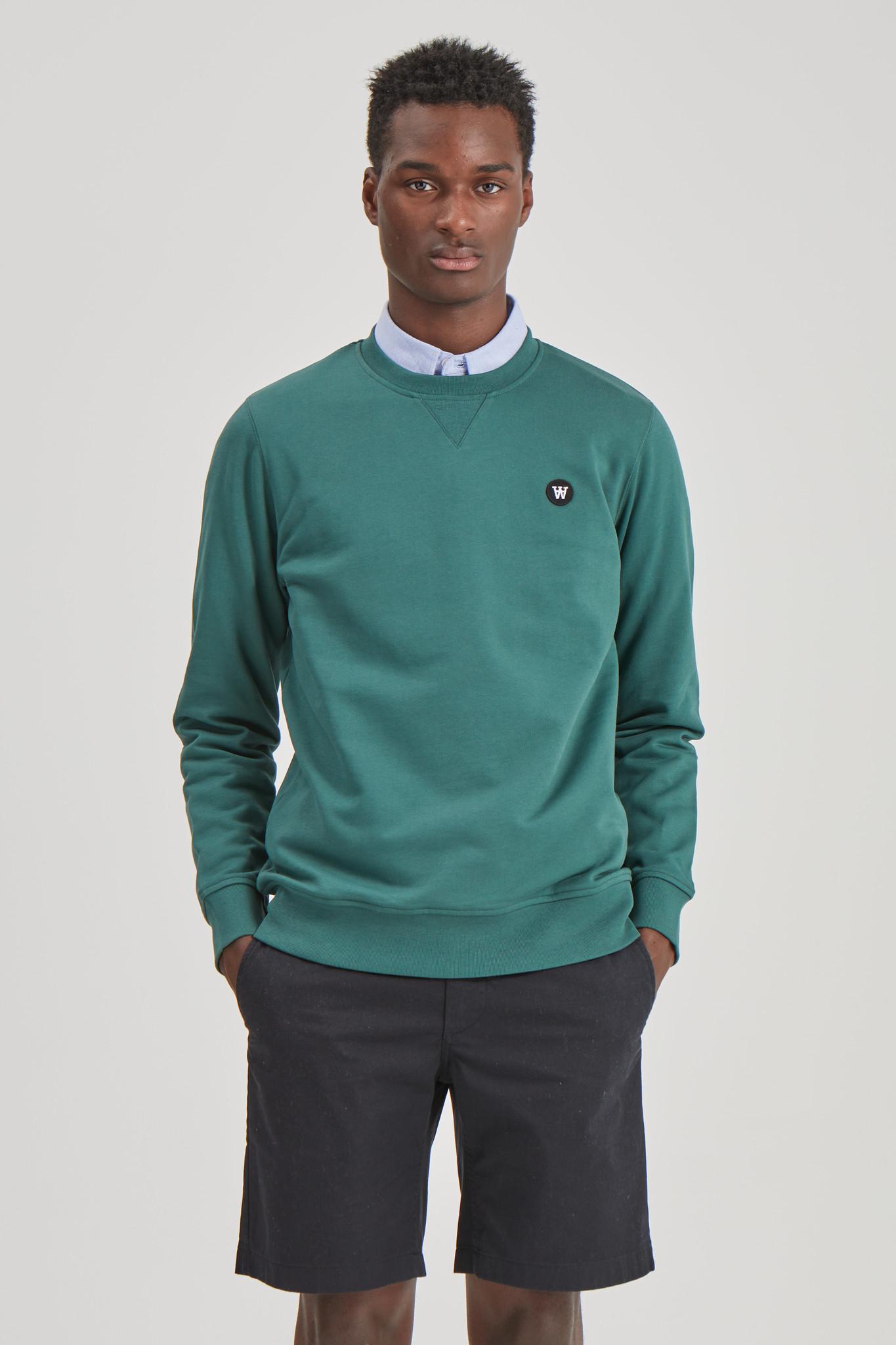Tye katoenen Sweatshirt Gewassen Groen-3