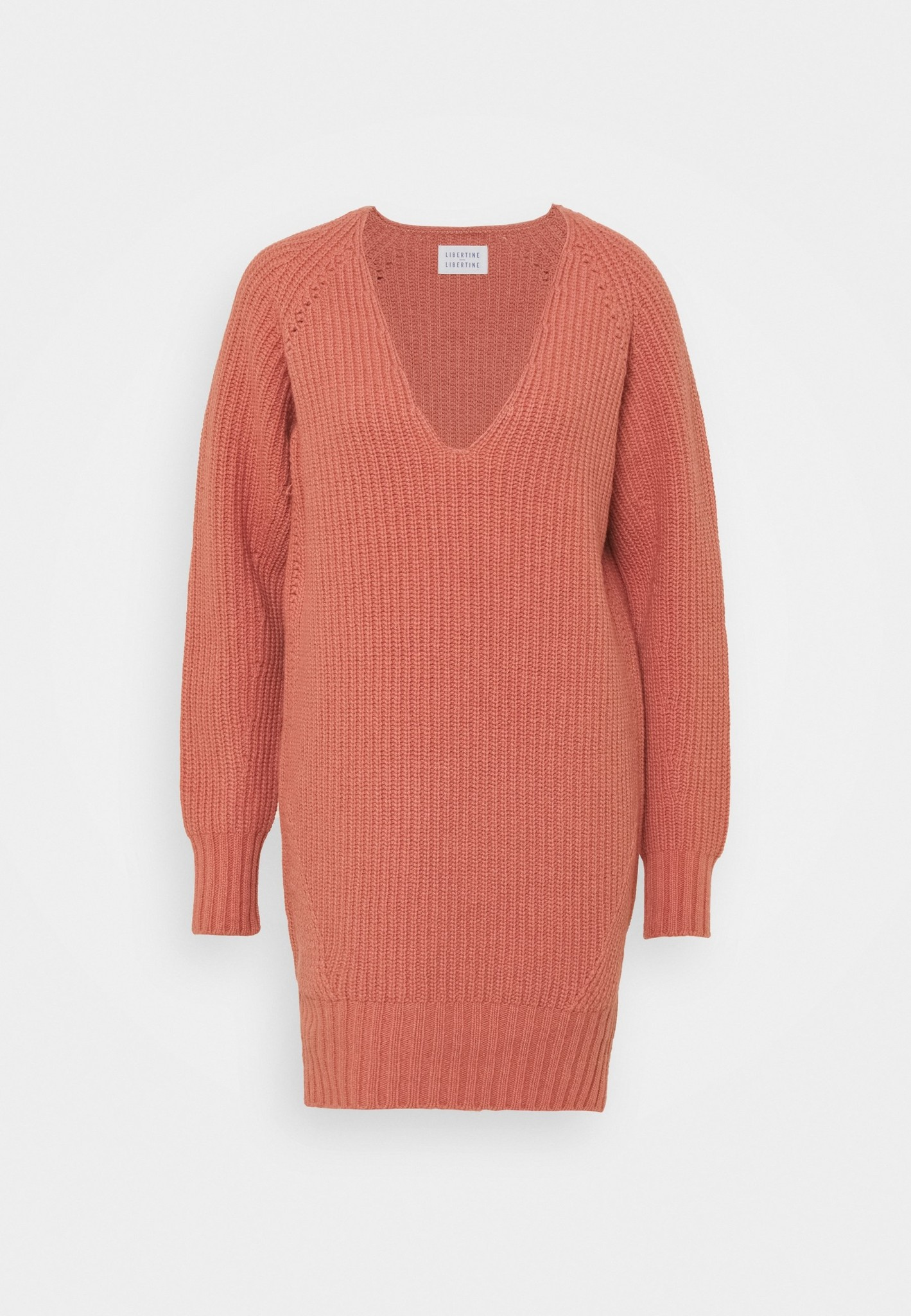 Voyage Long Smoked Orchid Knitwear-1