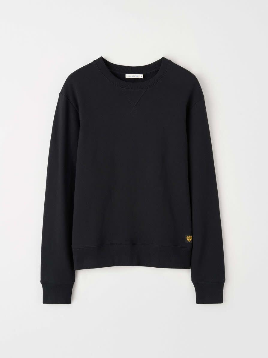 Niccola Katoenen Sweatshirt Zwart-1