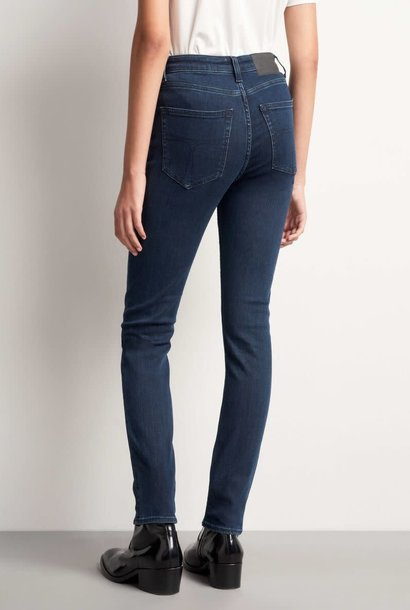 Shelly High Waist Slim Fit Royal Blue Jeans