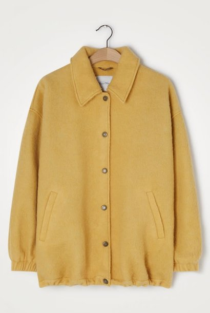 Zalirow Wool Jacket Peanuts Yellow