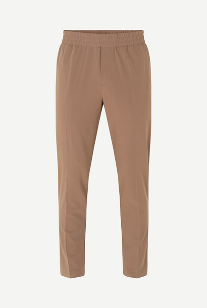 Smithy Relaxed Fit Broek Rendier Bruin