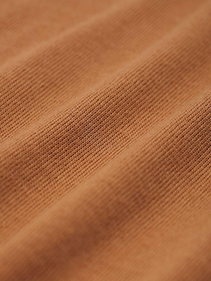 Nichols Merino Wool Pullover Dromedary Brown-2