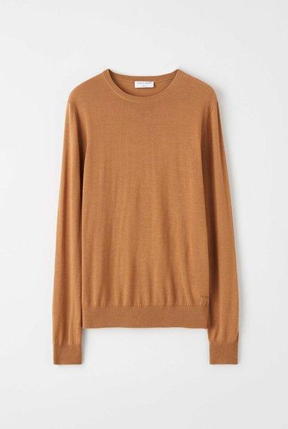 Nichols Merino Wool Pullover Dromedary Brown