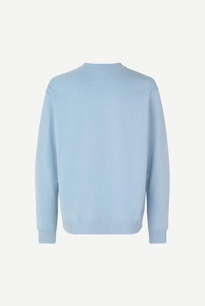 Toscan Sweatshirt Stof Blauw