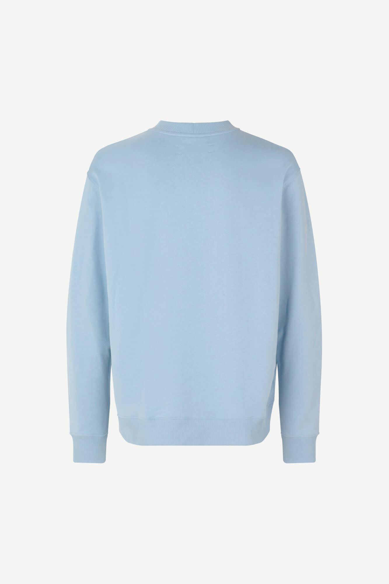 Toscan Sweatshirt Dusty Blue-1