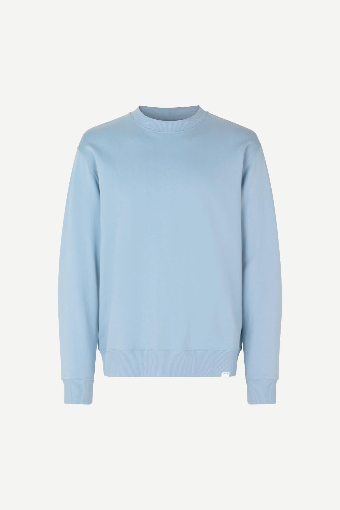 Toscan Sweatshirt Dusty Blue-2
