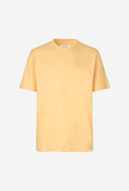 Hugo Katoenen T-Shirt Sahara Geel