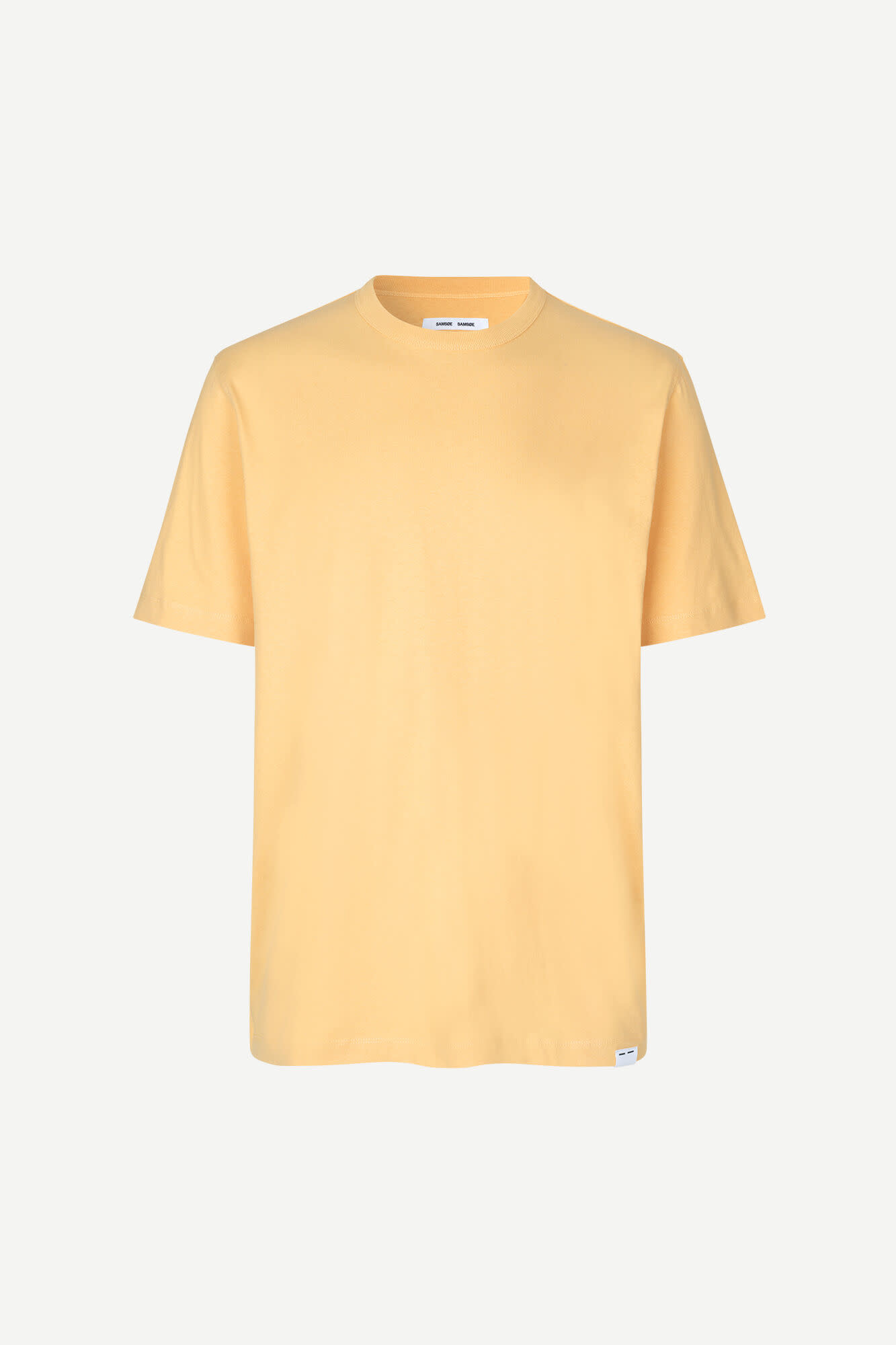 Hugo Cotton T-Shirt Sahara Yellow-1