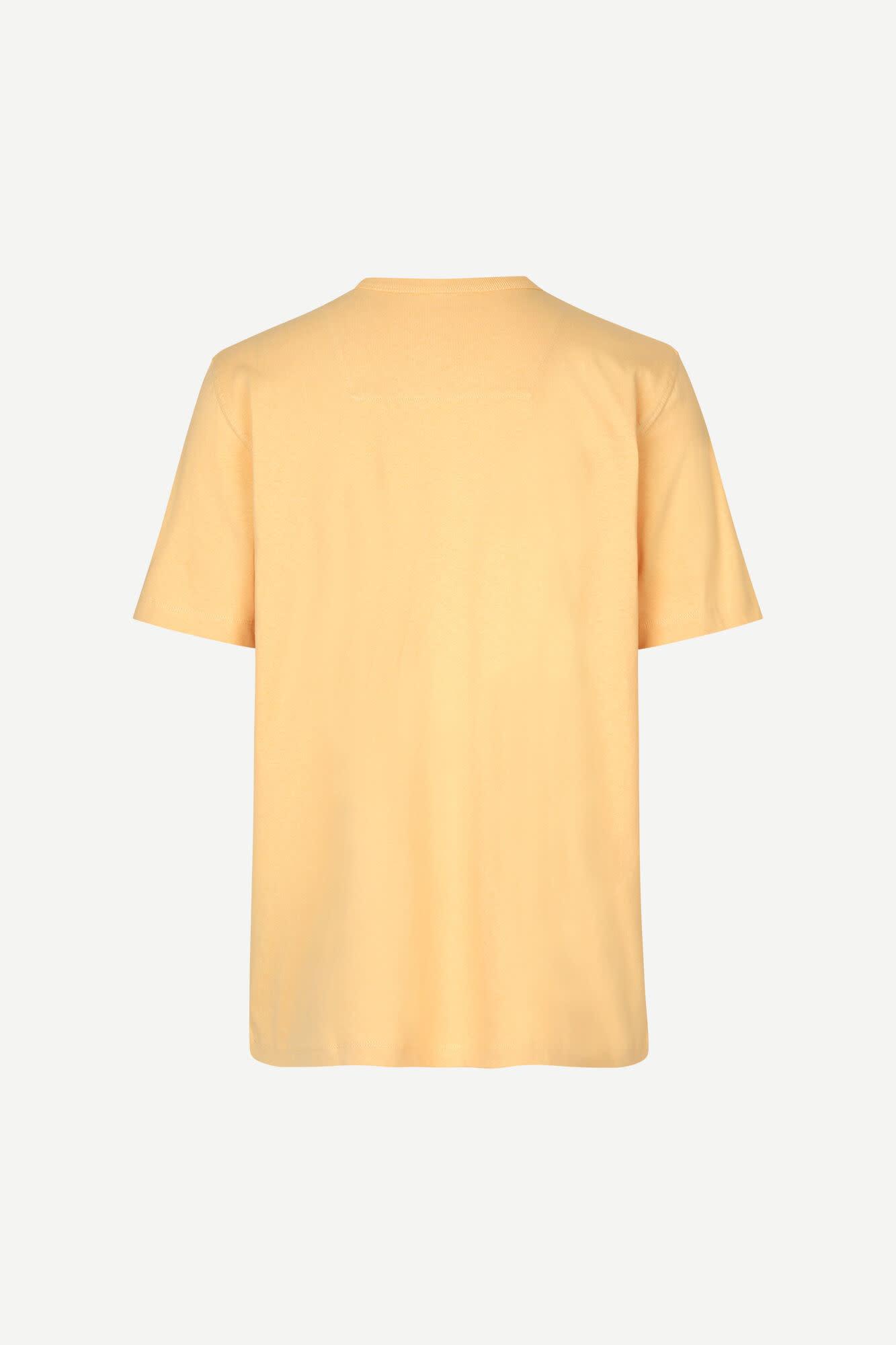 Hugo Cotton T-Shirt Sahara Yellow-2