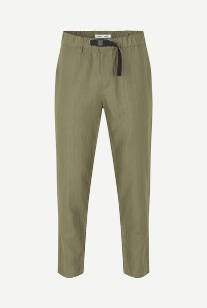 Agnar Relaxed Pants Deep Lichin Green