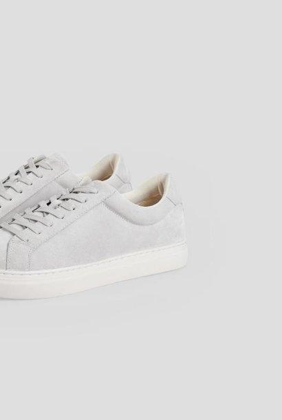 Paul Staal Grijs Suède Leren Sneaker