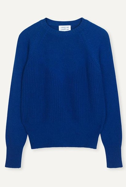 Hold Wool Jumper Electric Blue