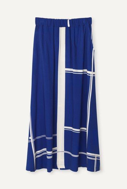 Box Limouges Long Dress Blue