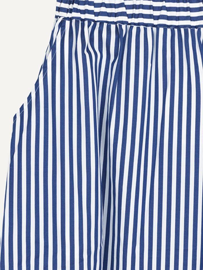 Box Royal Stripe Rok Wit-Blauw-2