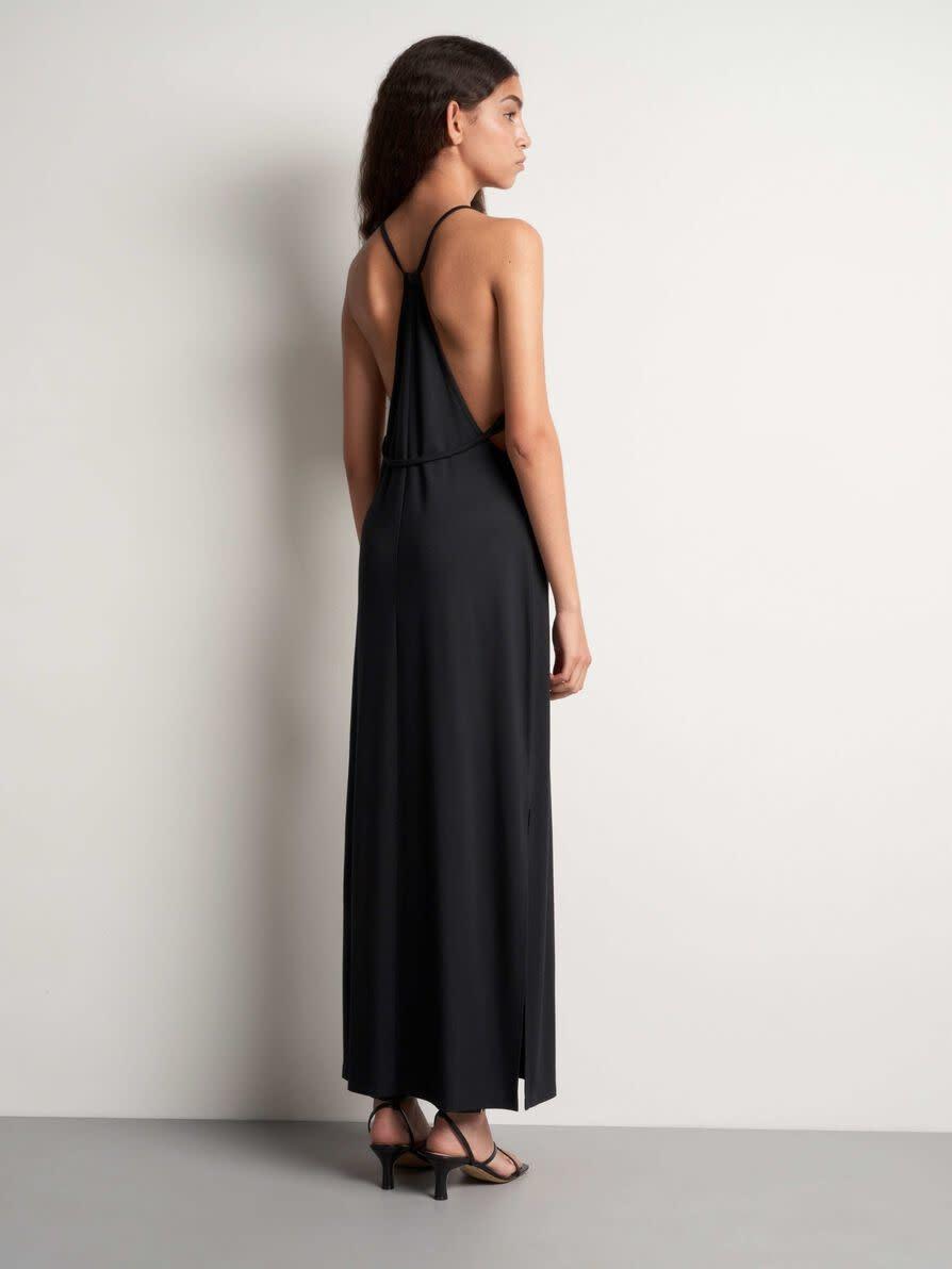 Soli Long Maxi Dress Black-2